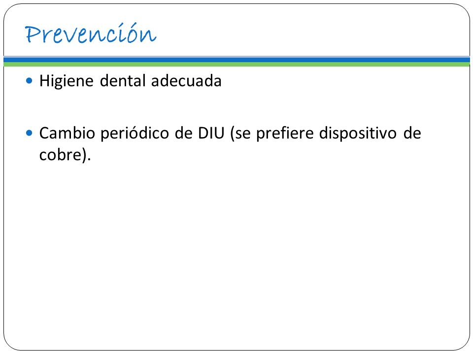 Prevención Higiene dental adecuada