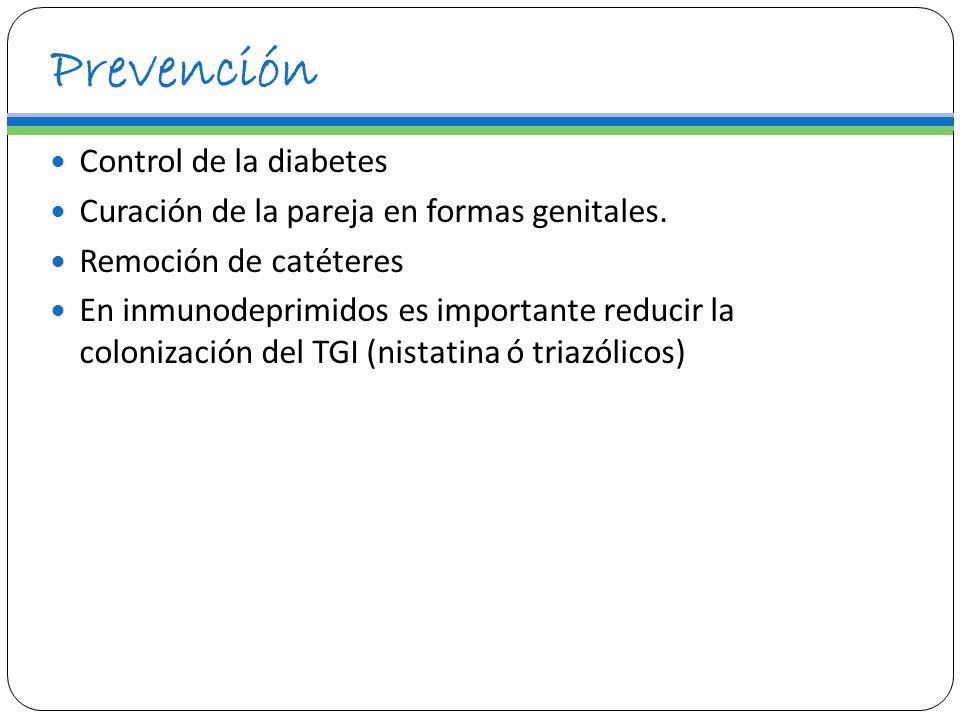 Prevención Control de la diabetes