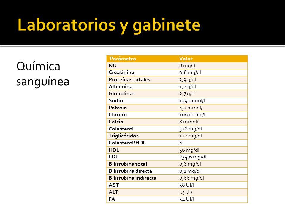 Laboratorios y gabinete