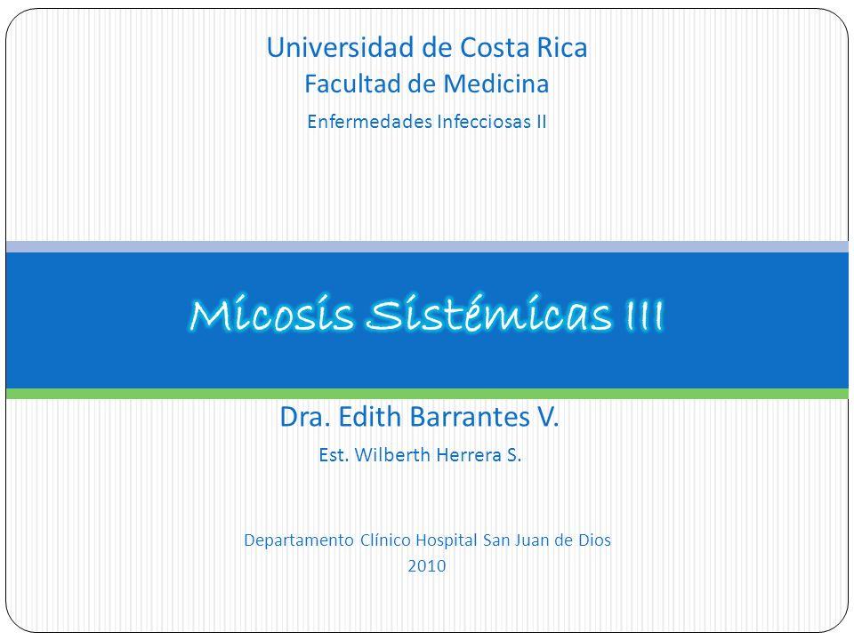 Micosis Sistémicas III