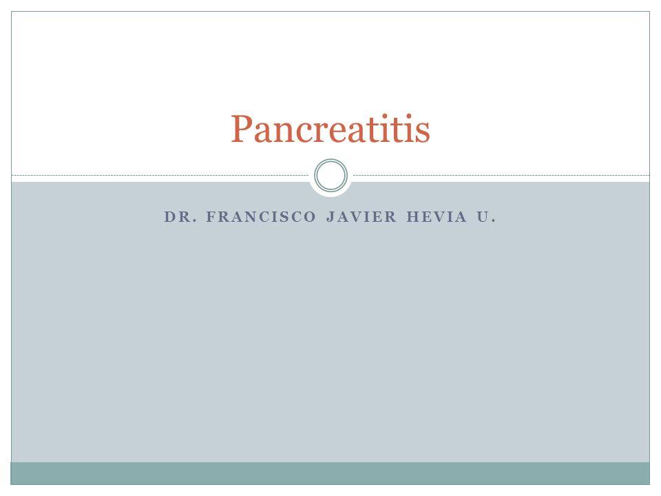 Dr. Francisco Javier Hevia U.