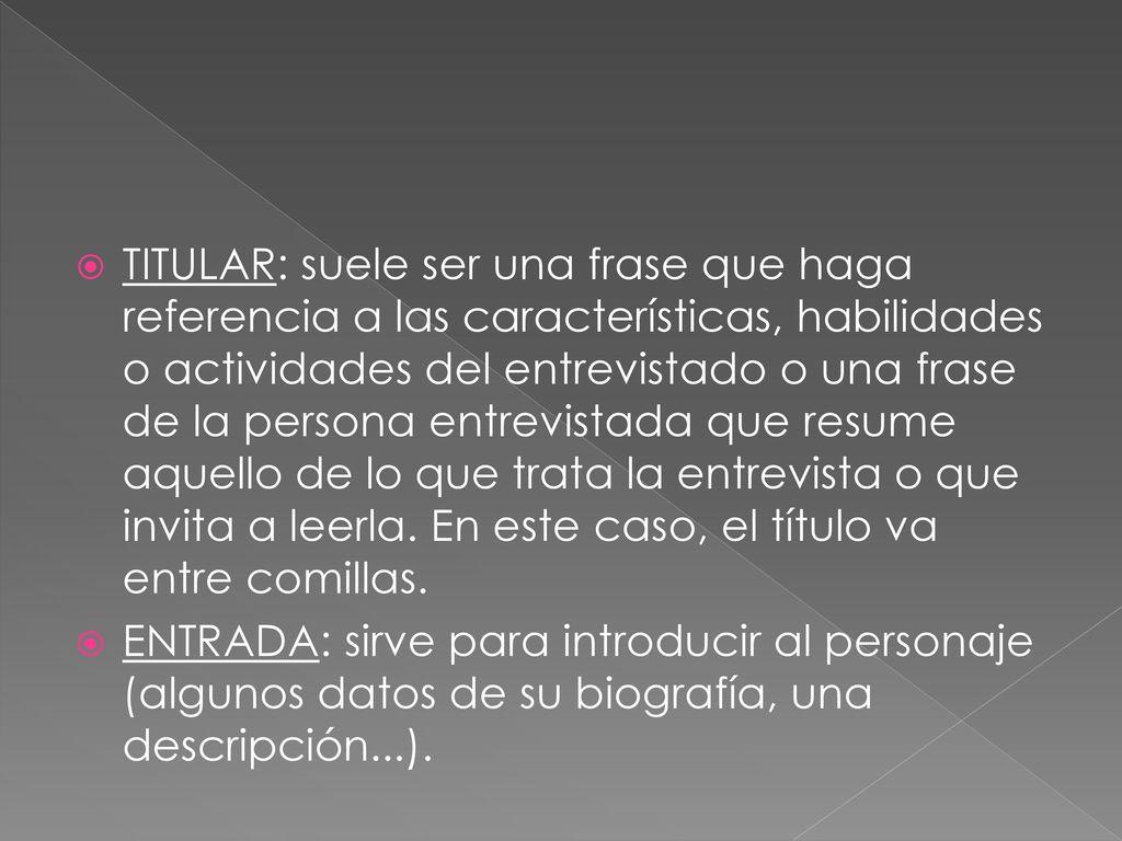 TIPOS DE TEXTOS (II). - ppt descargar