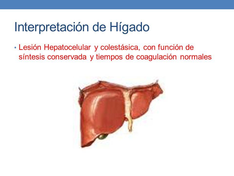 Interpretación de Hígado