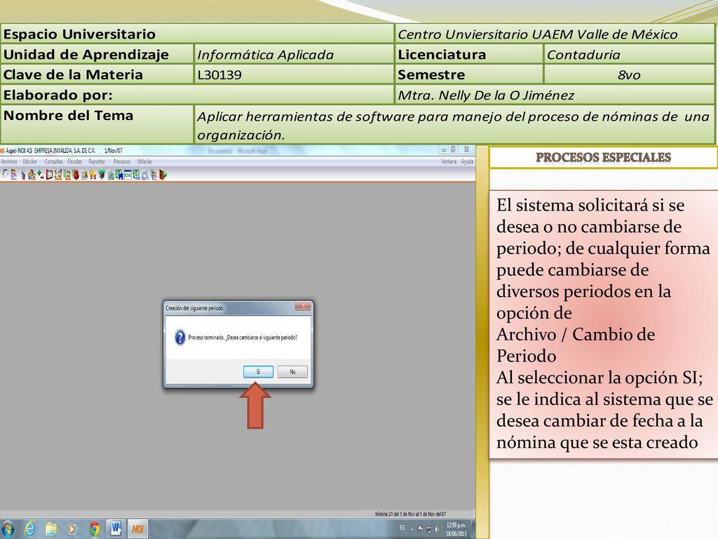 Metodología La presentación esta elaborada con la finalidad de ...