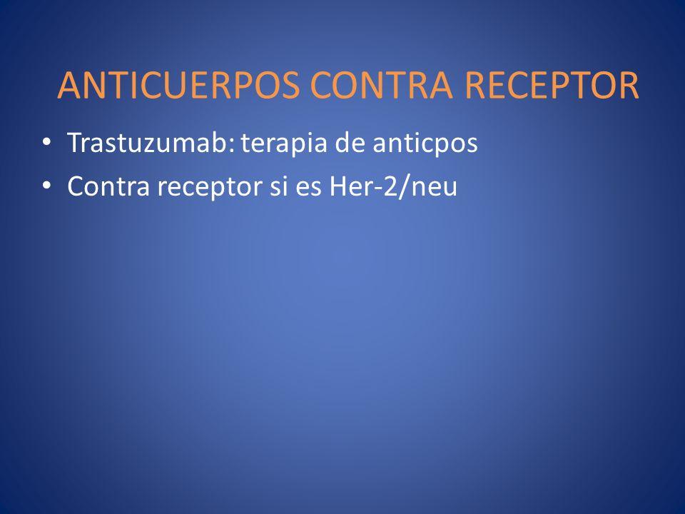 ANTICUERPOS CONTRA RECEPTOR