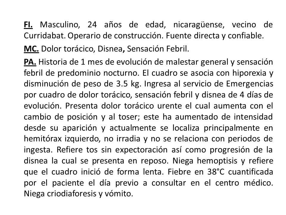 FI. Masculino, 24 años de edad, nicaragüense, vecino de Curridabat