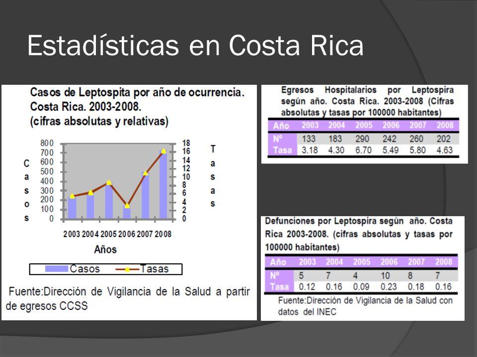 Estadísticas en Costa Rica