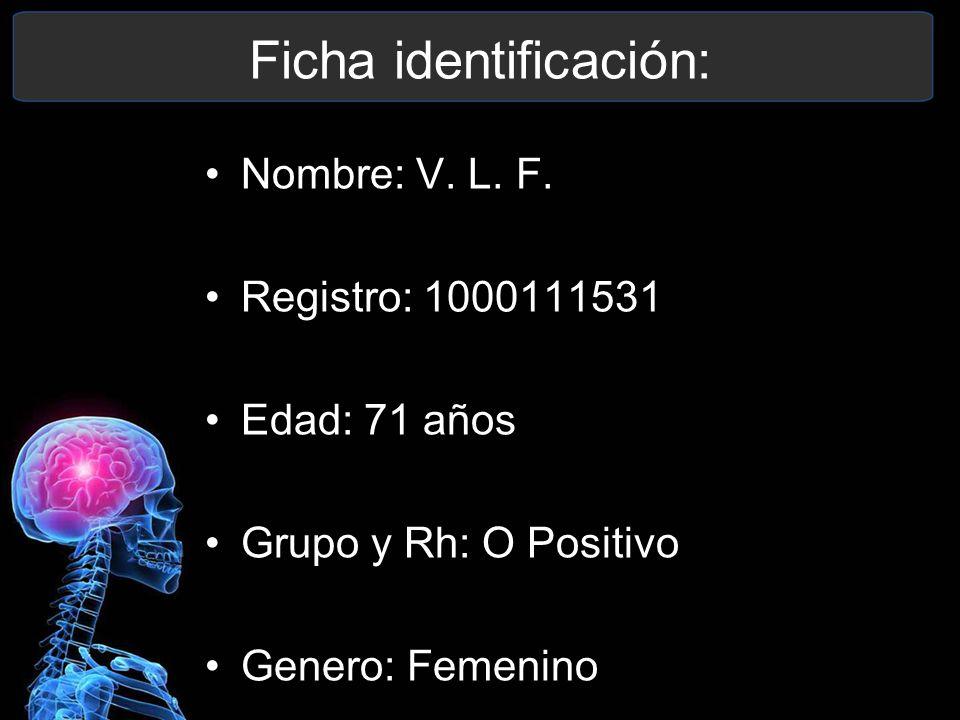 Ficha identificación: