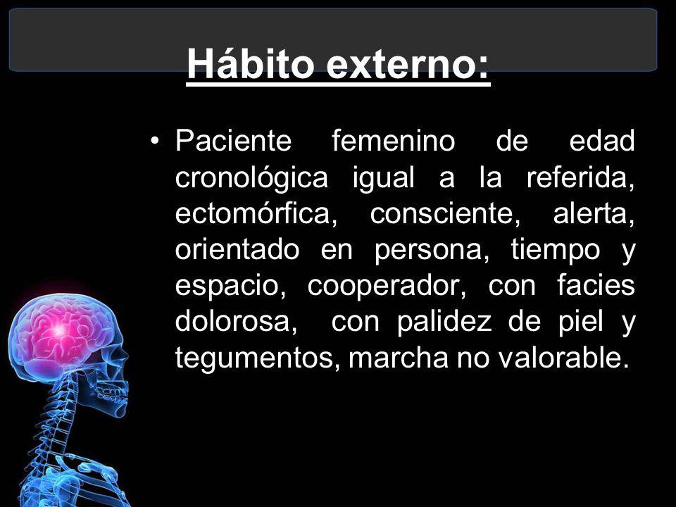 Hábito externo: