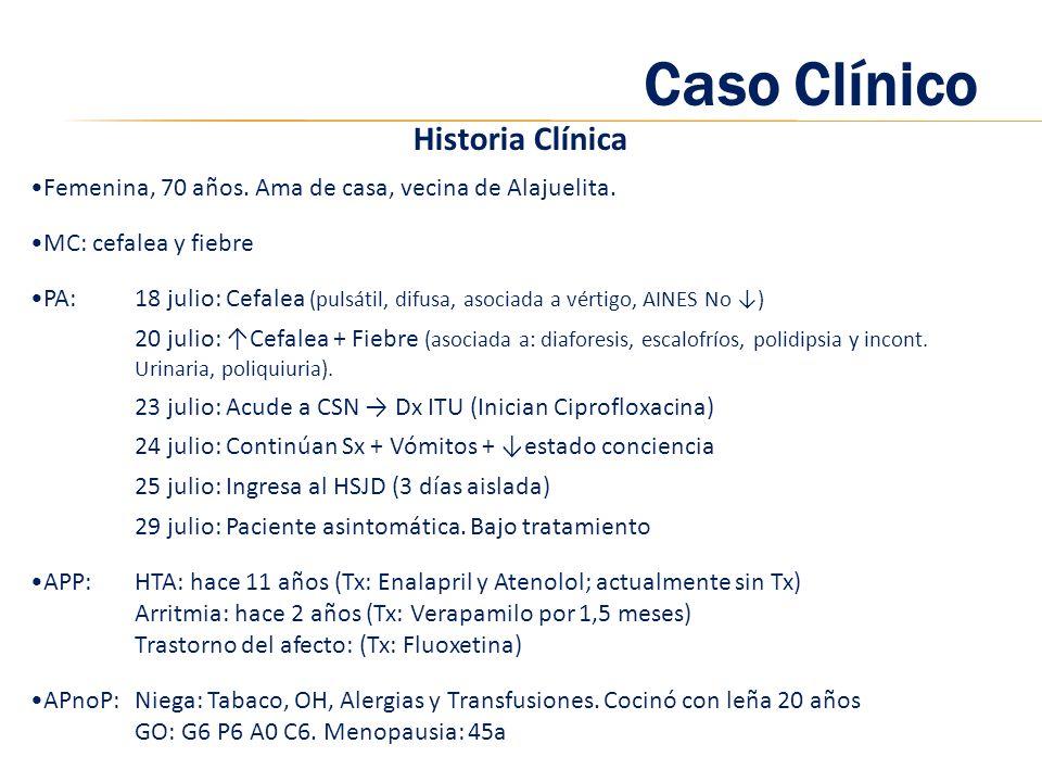 Caso Clínico Historia Clínica