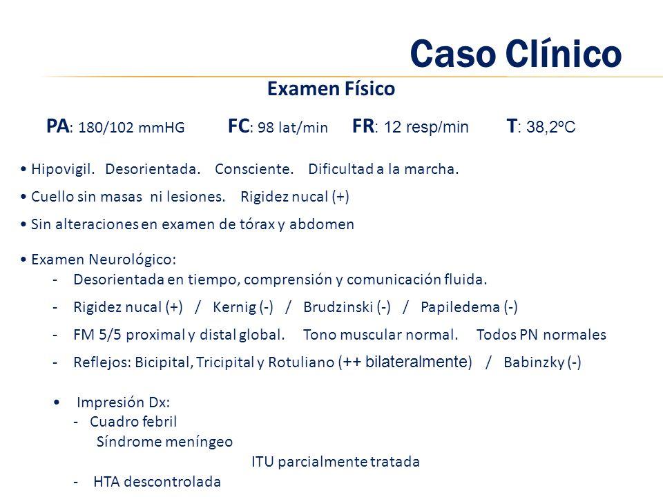 Caso Clínico Examen Físico