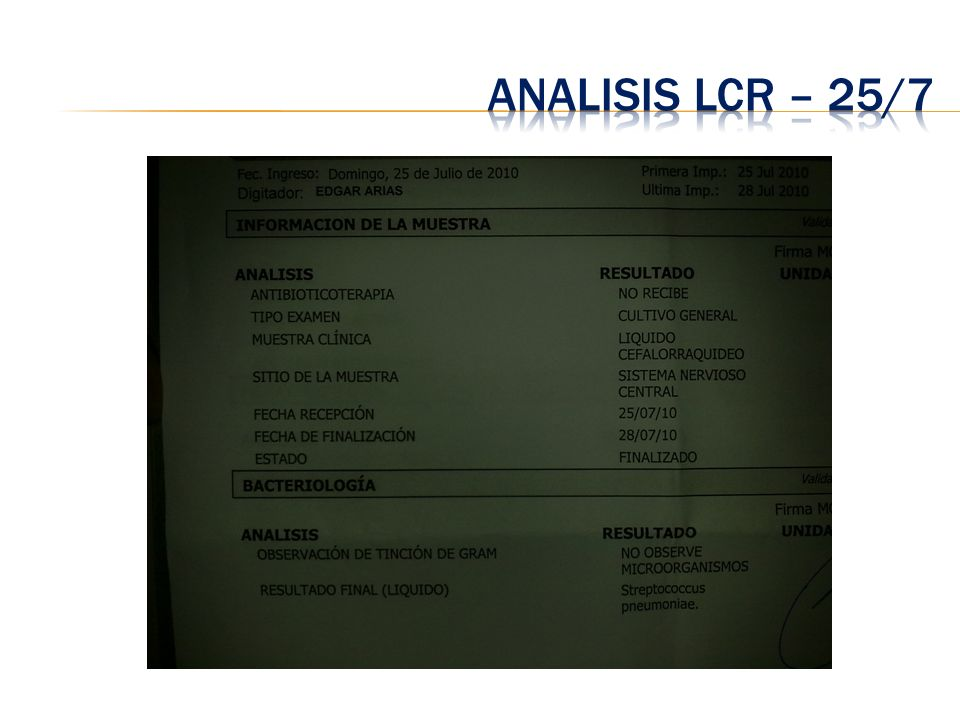 Analisis LCR – 25/7