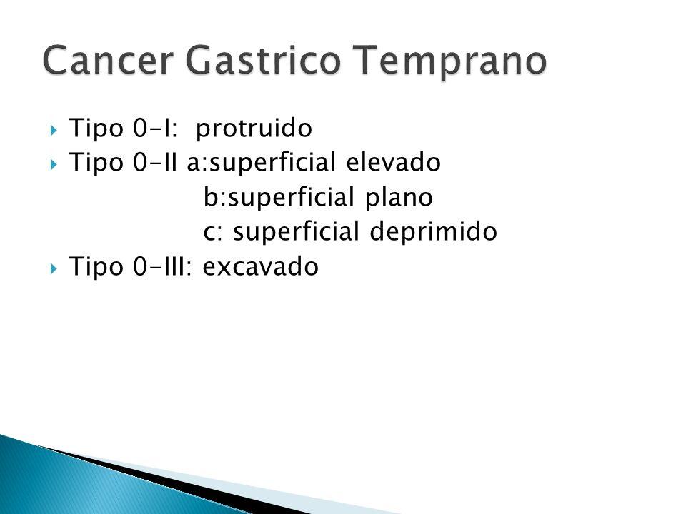Cancer Gastrico Temprano