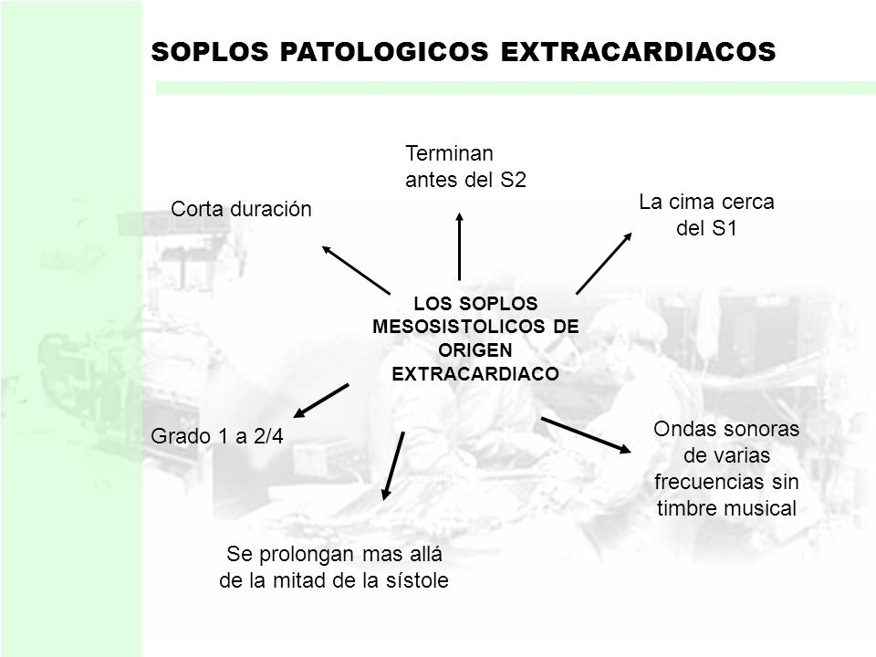 LOS SOPLOS MESOSISTOLICOS DE ORIGEN EXTRACARDIACO