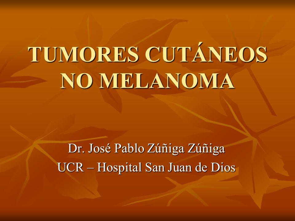 TUMORES CUTÁNEOS NO MELANOMA