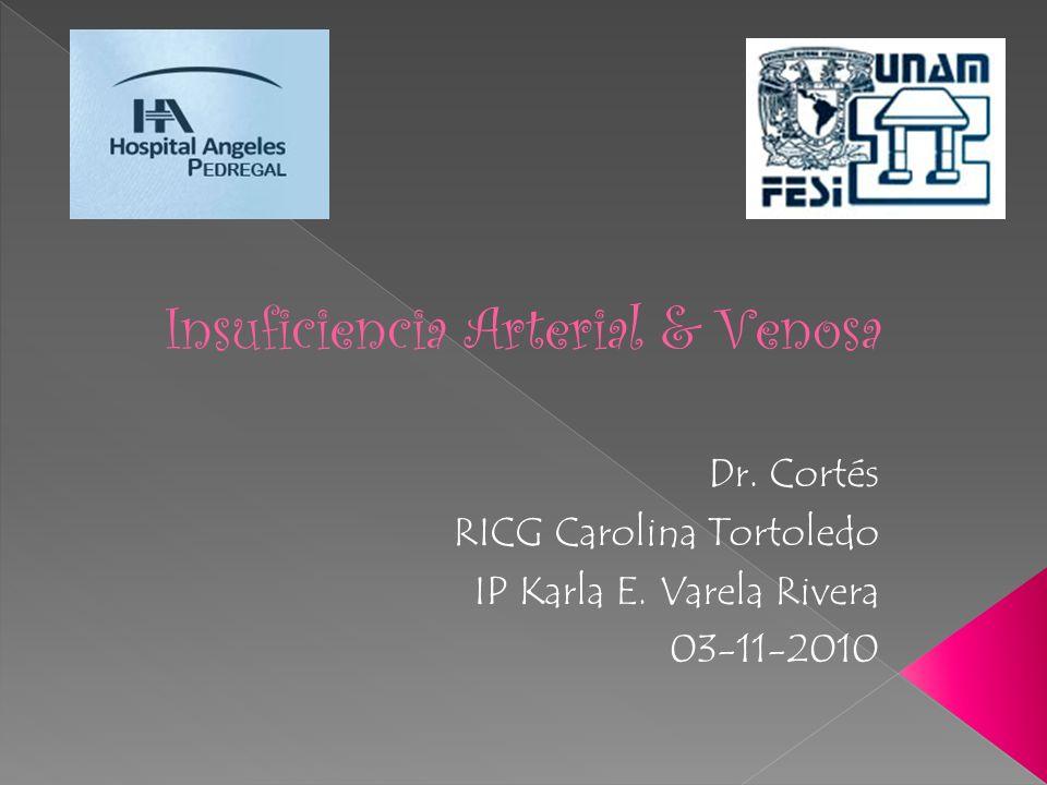 Insuficiencia Arterial & Venosa