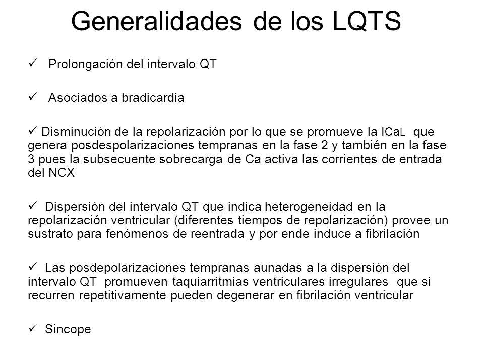 Generalidades de los LQTS