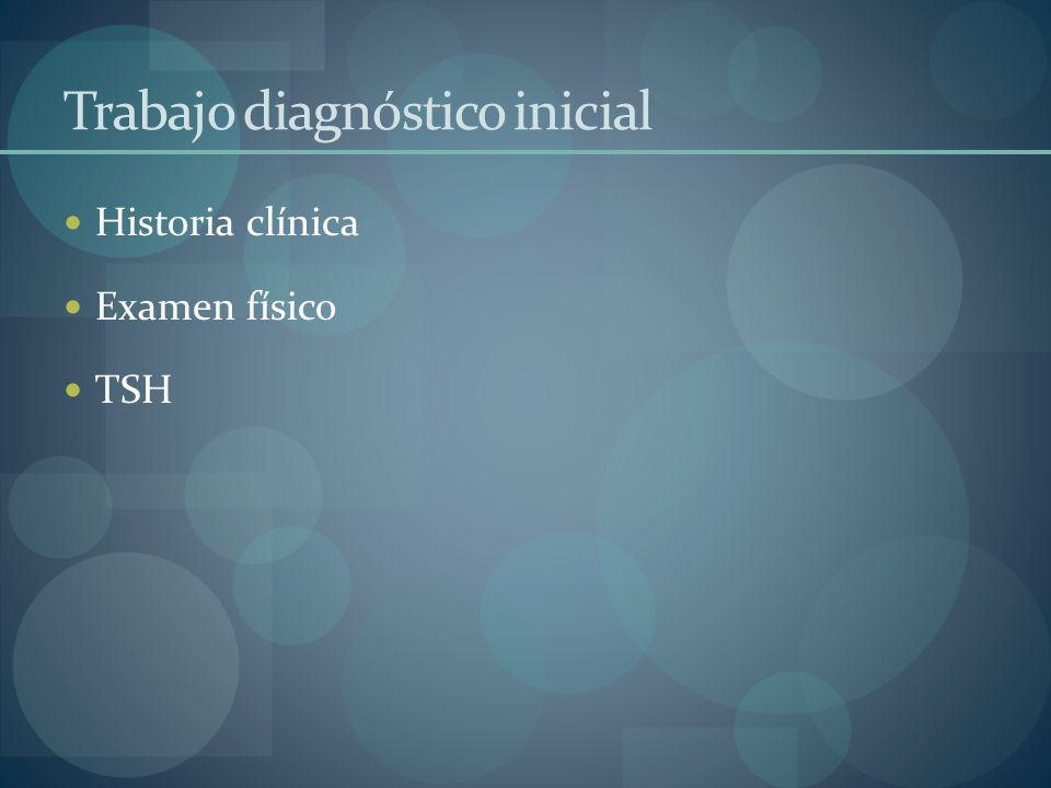 Trabajo diagnóstico inicial