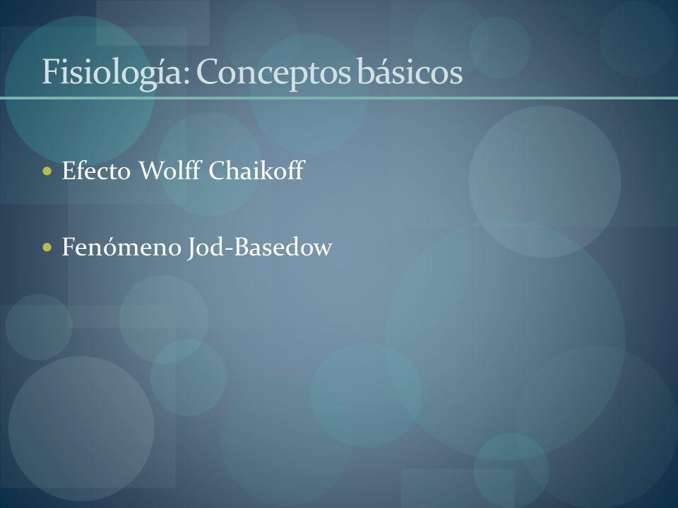 Fisiología: Conceptos básicos