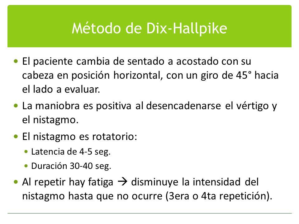 Método de Dix-Hallpike