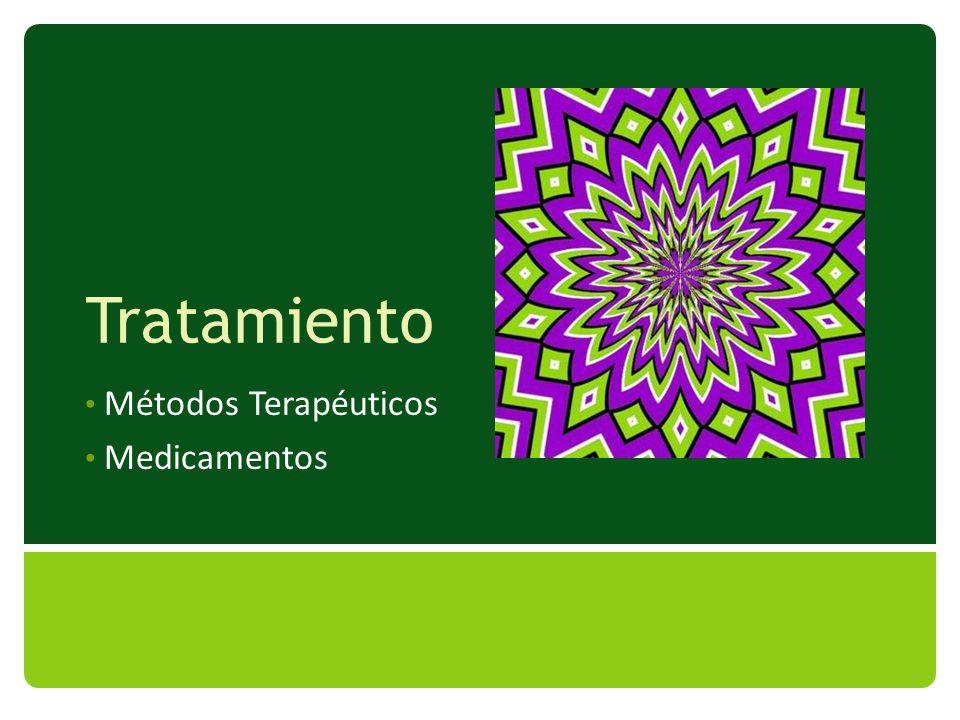 Tratamiento Métodos Terapéuticos Medicamentos