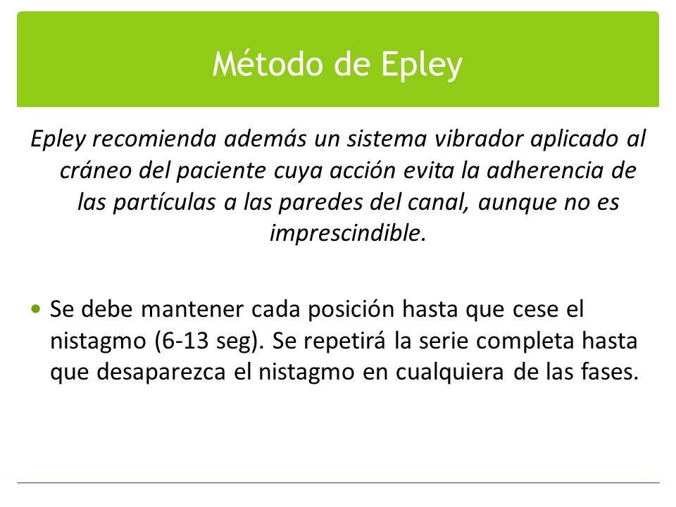 Método de Epley
