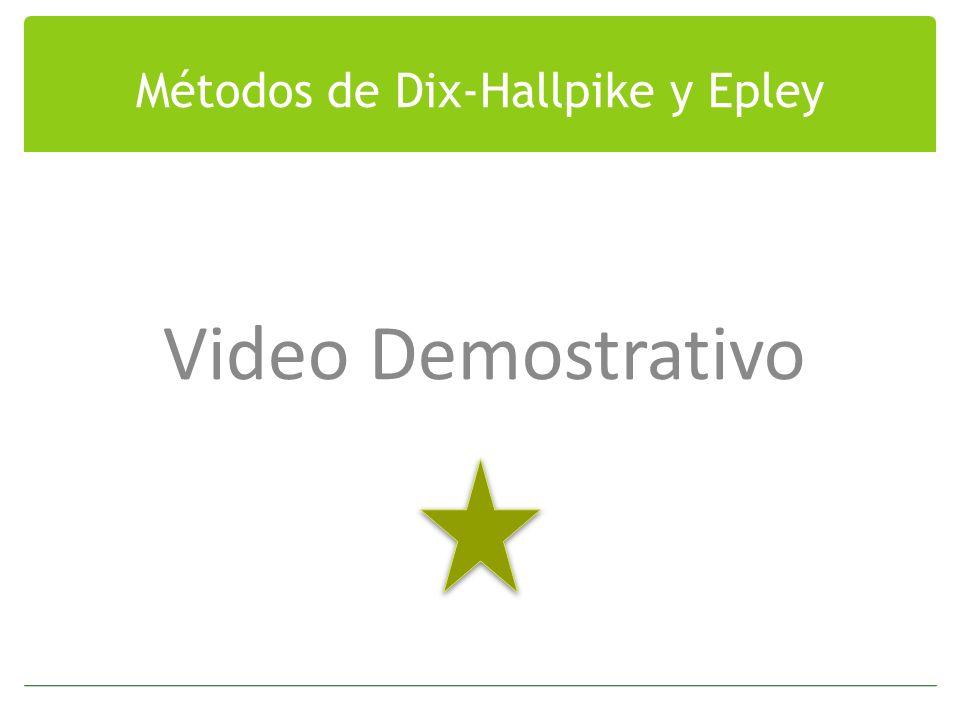 Métodos de Dix-Hallpike y Epley