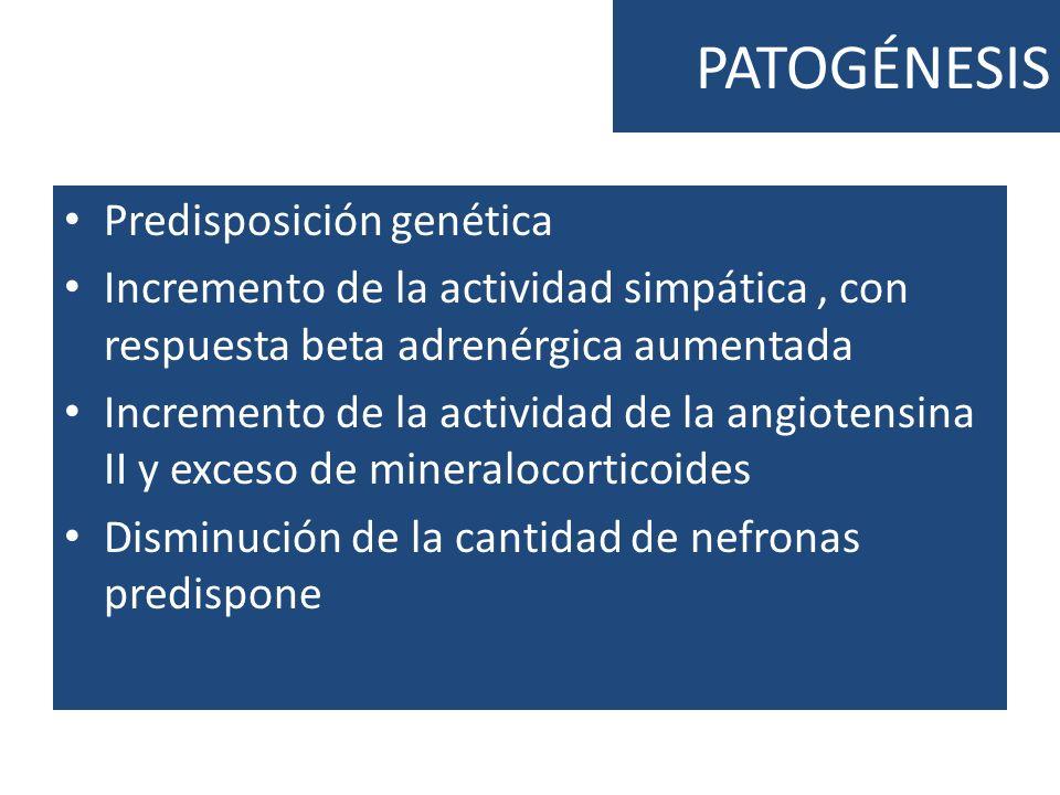 PATOGÉNESIS Predisposición genética