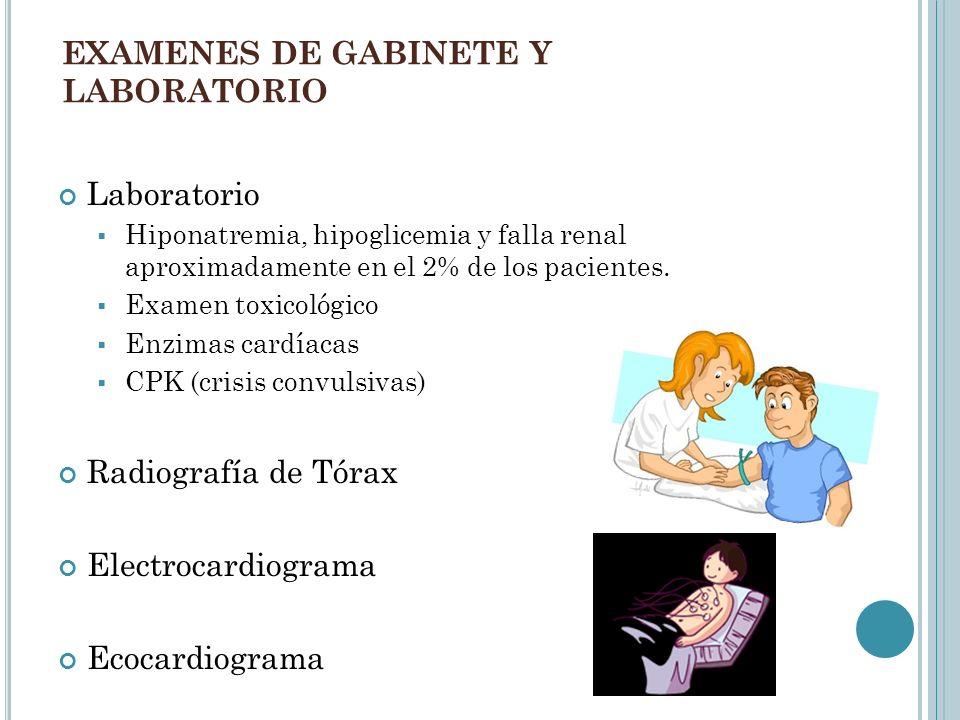 EXAMENES DE GABINETE Y LABORATORIO