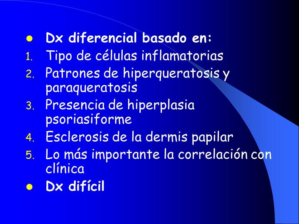 Dx diferencial basado en: