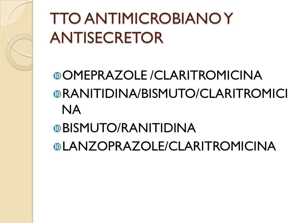 TTO ANTIMICROBIANO Y ANTISECRETOR