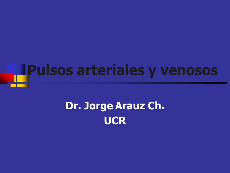 Pulsos arteriales y venosos