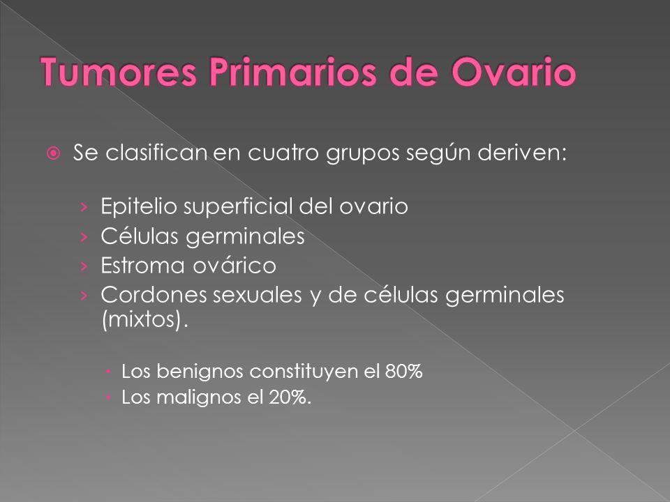 Tumores Primarios de Ovario