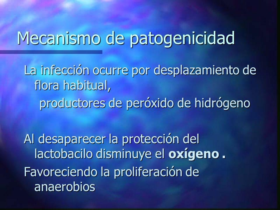 Mecanismo de patogenicidad