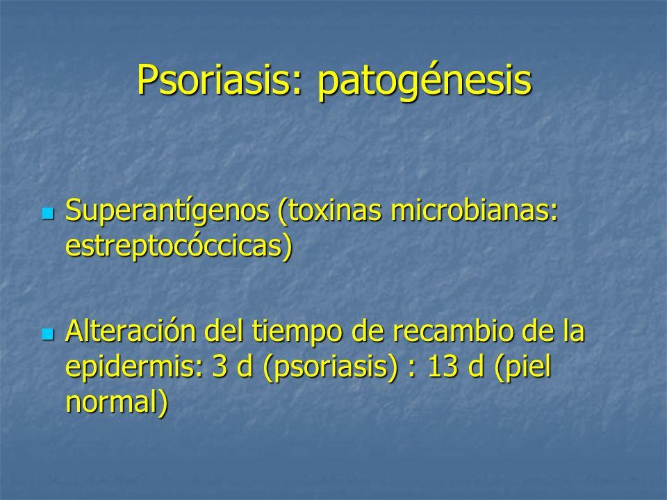 Psoriasis: patogénesis