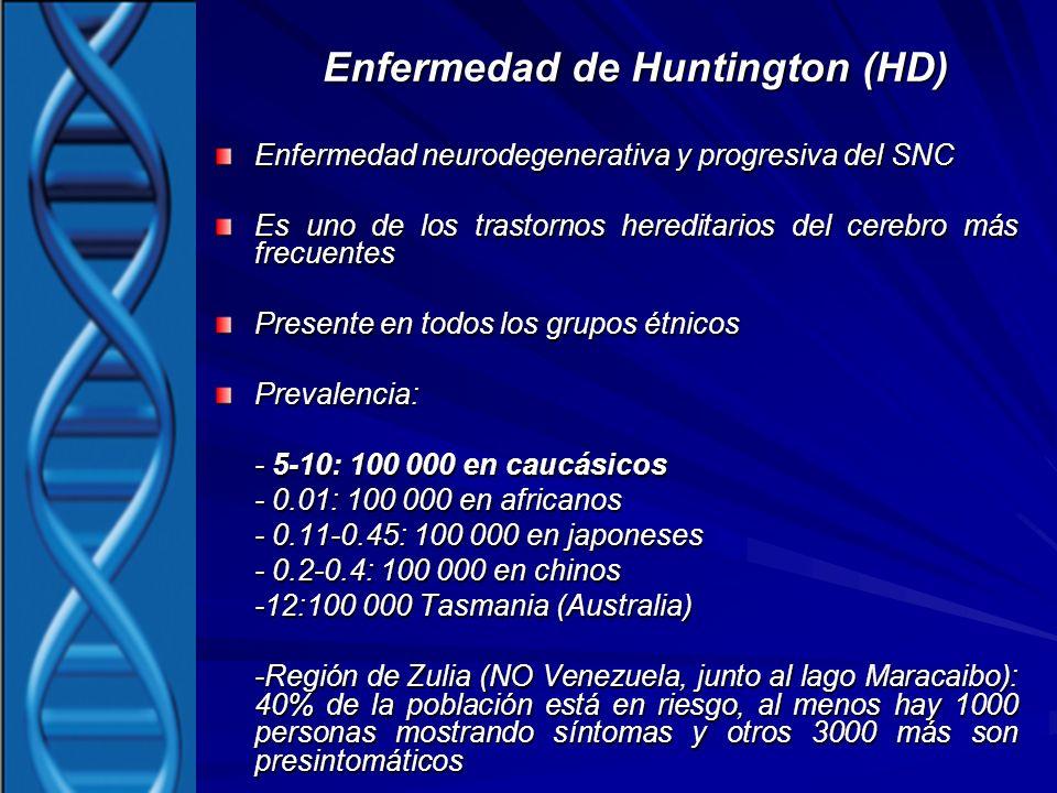 Enfermedad de Huntington (HD)