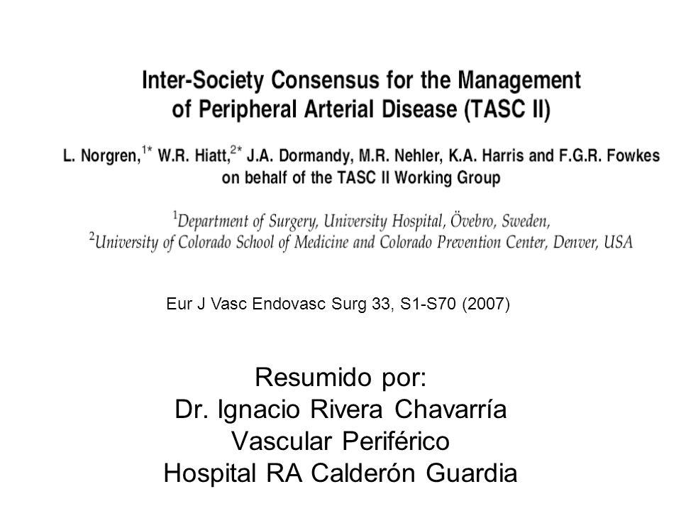 Dr. Ignacio Rivera Chavarría Vascular Periférico