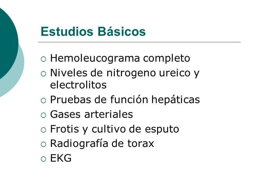 Estudios Básicos Hemoleucograma completo