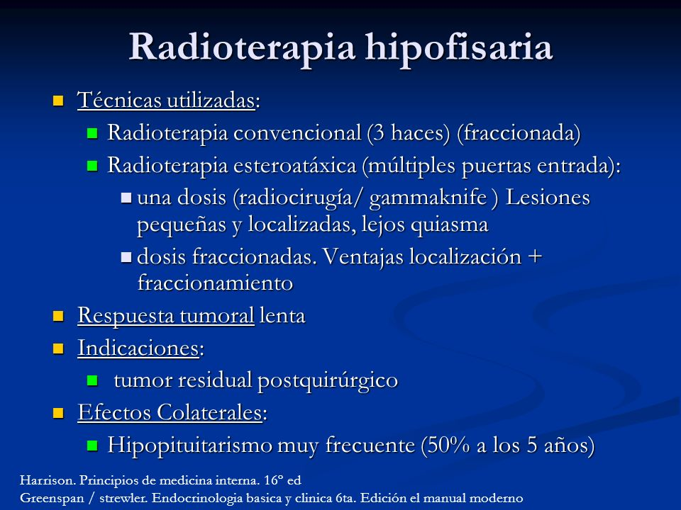 Radioterapia hipofisaria