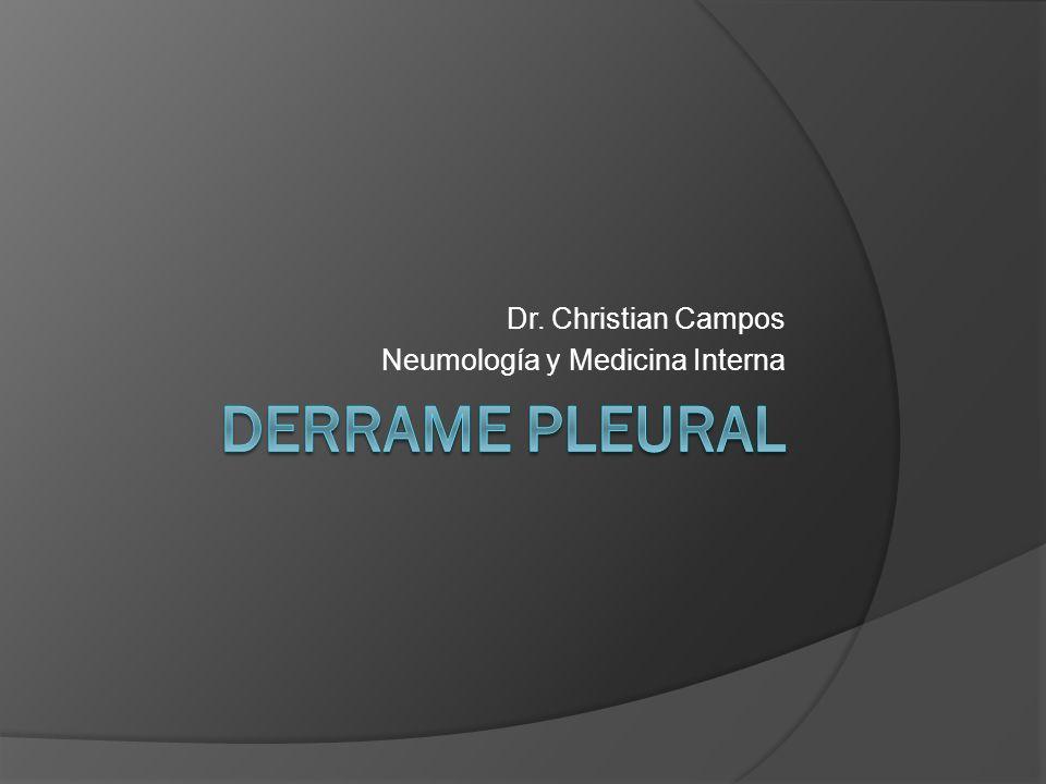 Dr. Christian Campos Neumología y Medicina Interna