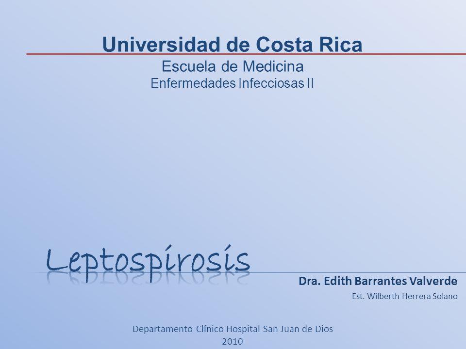 Dra. Edith Barrantes Valverde Est. Wilberth Herrera Solano