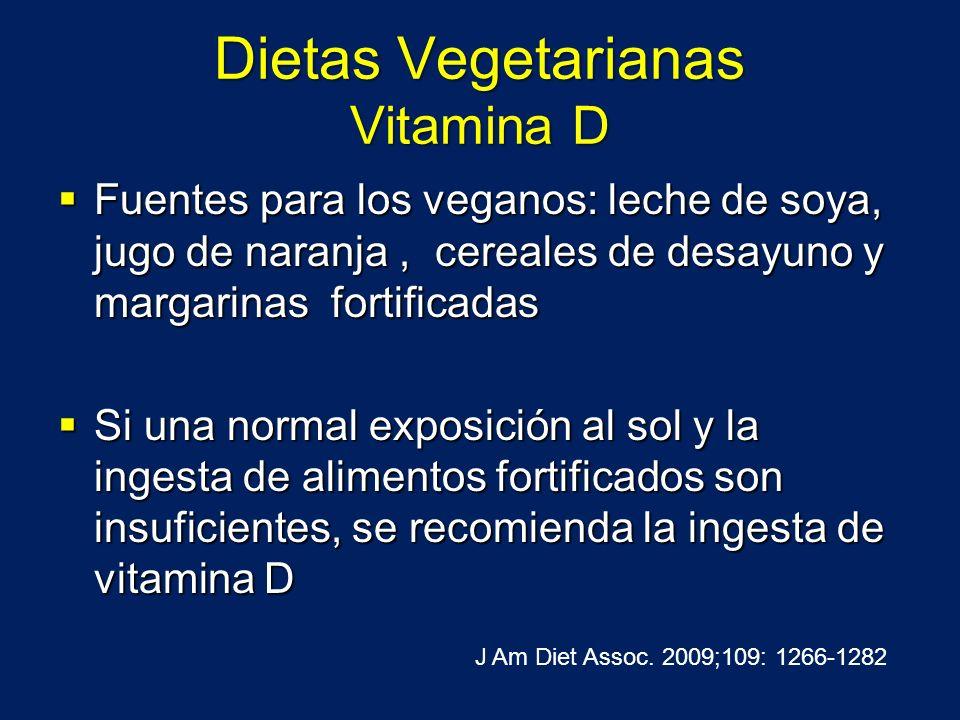 Dietas Vegetarianas Vitamina D