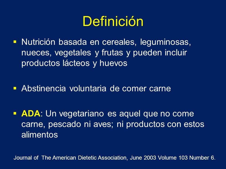 Definición Nutrición basada en cereales, leguminosas, nueces, vegetales y frutas y pueden incluir productos lácteos y huevos.