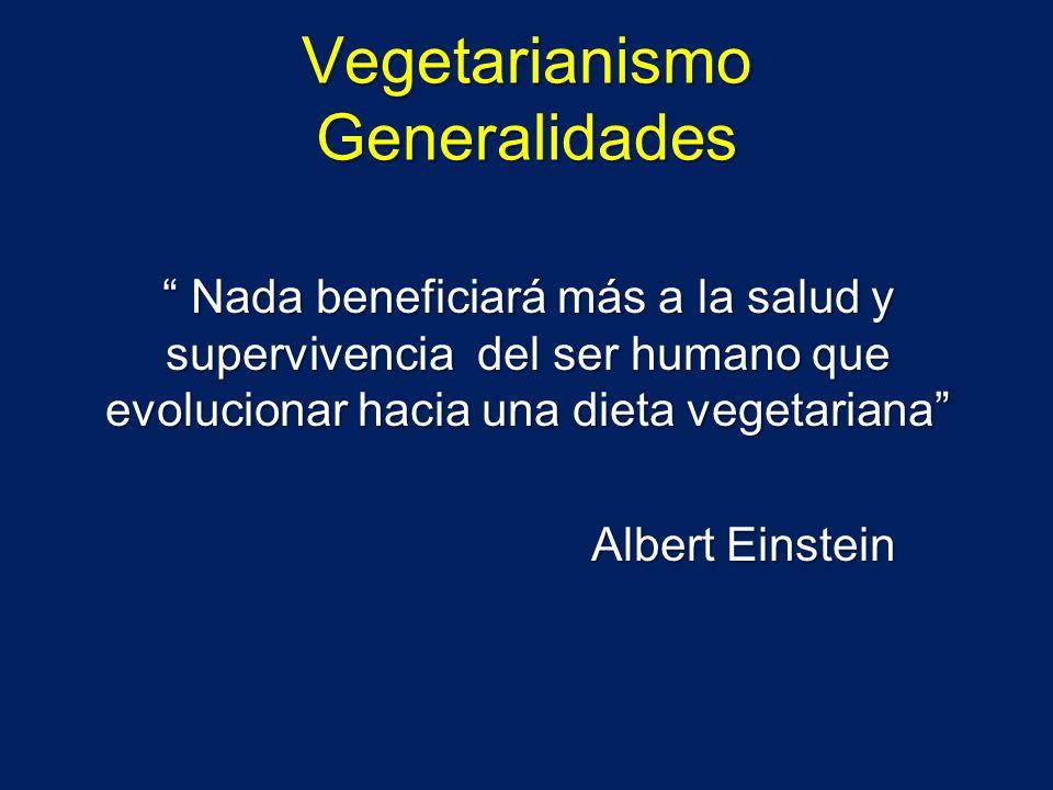 Vegetarianismo Generalidades