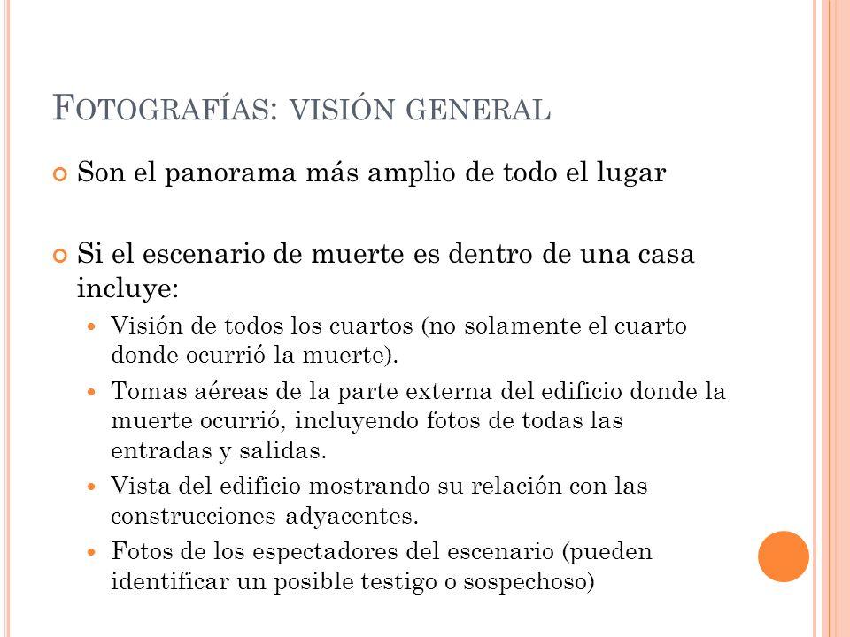 Fotografías: visión general
