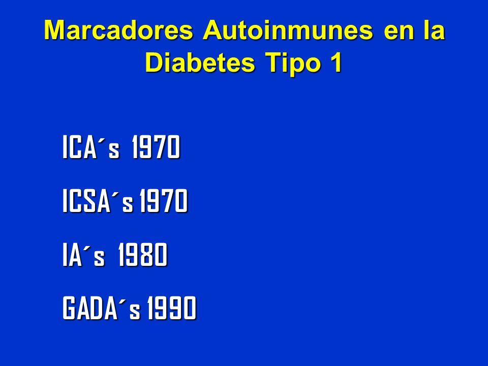 Marcadores Autoinmunes en la Diabetes Tipo 1