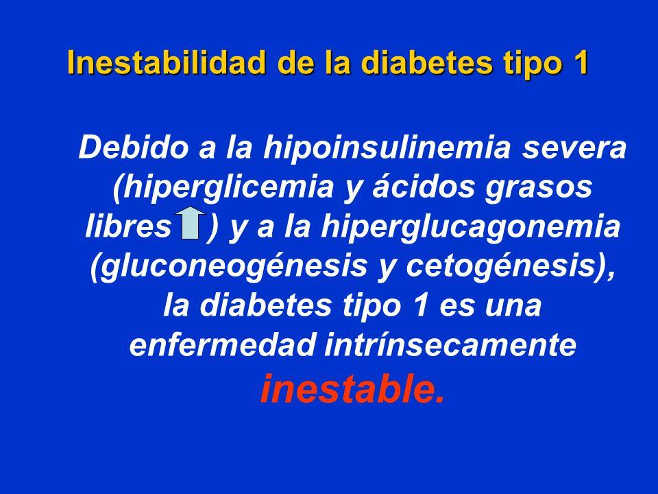 Inestabilidad de la diabetes tipo 1