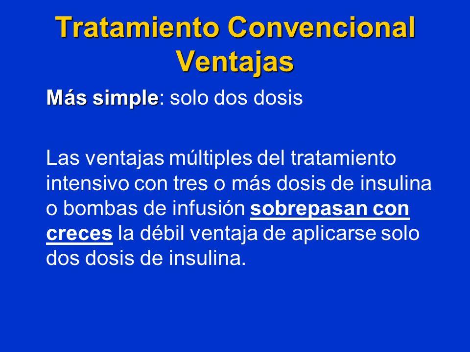 Tratamiento Convencional Ventajas