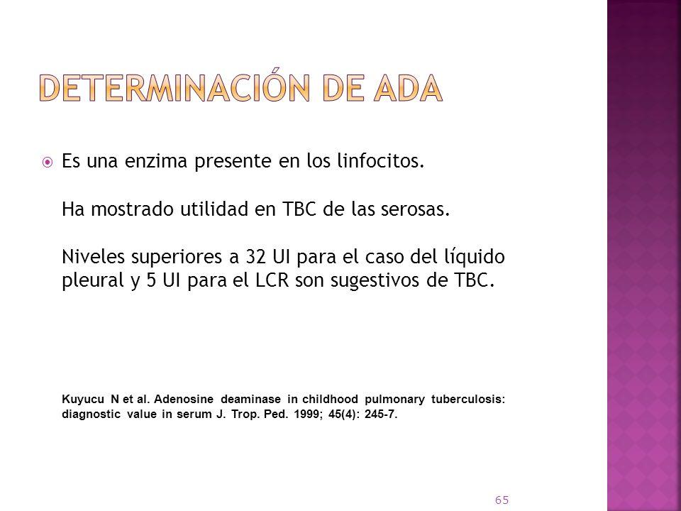 Determinación de ADA