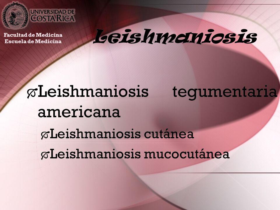 Leishmaniosis tegumentaria americana